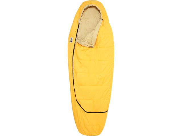 The North Face Plus Trail Synthetic 35 Śpiwór regular, żółty